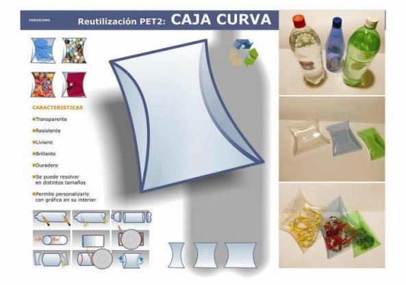 caja curva botellas