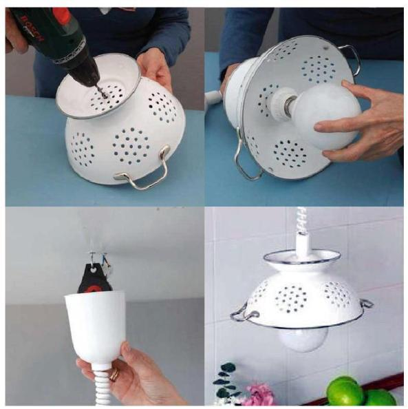 colador lampara