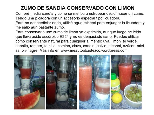 sandia limon